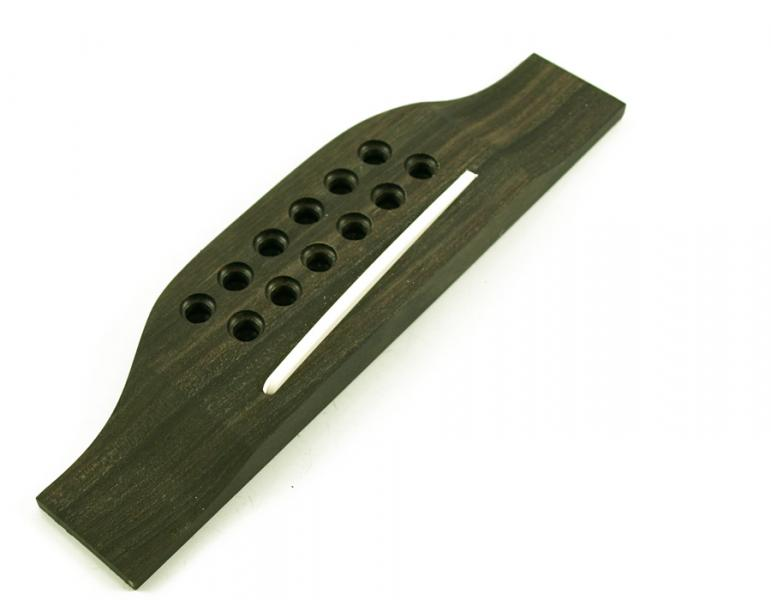 ACOUSTIC BRIDGE 12 STRING EBONY
