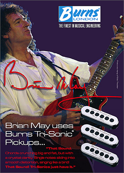 BURNS TRI-SONIC PICKUP SET