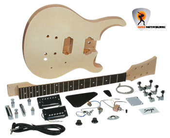 Double Cutaway Electric Guitar Kit