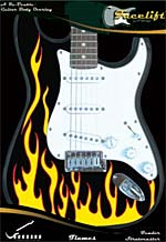 FLAME FACELIFT FOR STRATOCASTER