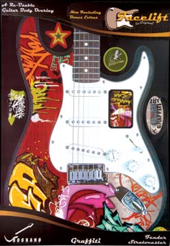 GRAFFITI FACELIFT FOR STRATOCASTER