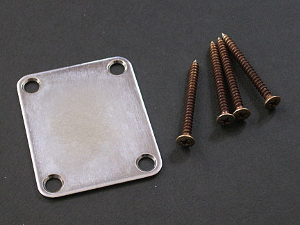 MONTREUX RETROVIBE FENDER NECKPLATE RELIC