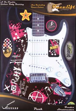 PUNK FACELIFT FOR STRATOCASTER
