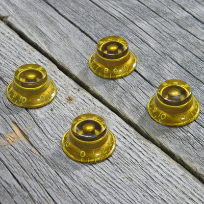 MONTREUX TIME MACHINE TOP HAT KNOB SET GOLD